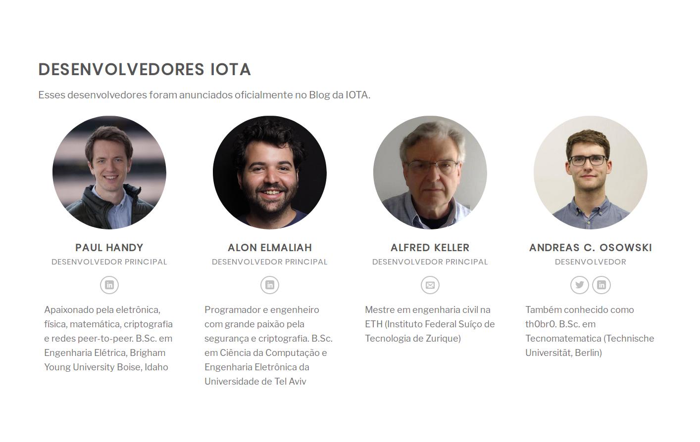 IOTA desenvolvedores 1