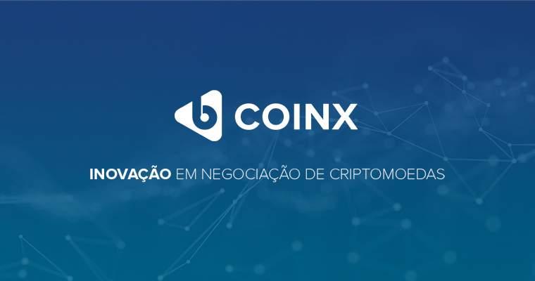 ffdcc99400 A CoinX anunciou oficialmente seu lançamento no dia 29 de Março