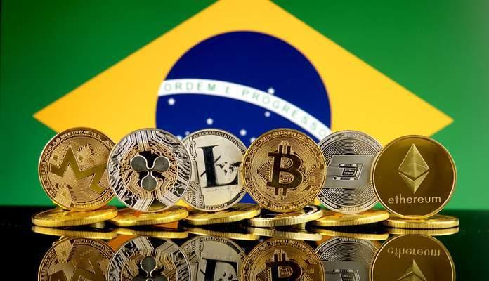 Image result for Brasil e criptomoedas