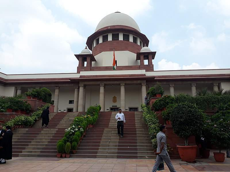 Suprema Corte da Índia (Foto: Pinakpani/Wikimedia)