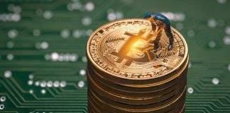 Volume de transações de Bitcoin alcança níveis de janeiro de 2018