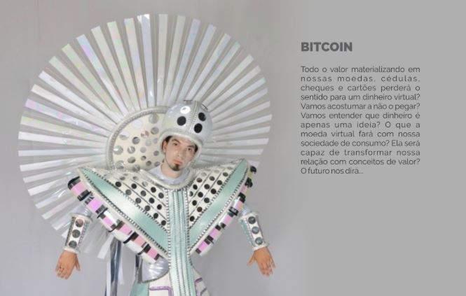 Escola do Carnaval do Rio terá samba-enredo sobre o dinheiro e fantasia de bitcoin
