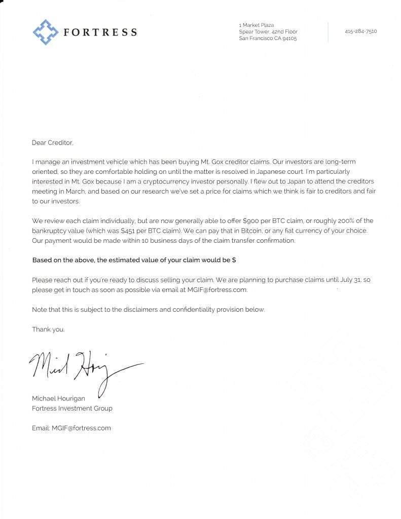 Fundo dos EUA oferece US$ 900 por bitcoin de credores da falida Mt. Gox 4