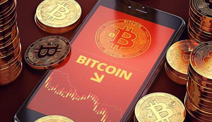 Bitcoin cai e é negociado abaixo de US$ 11.000 2