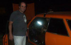 Foto de Paulo Bilibio em 2014, quando ele promovia a pirâmide financeira BBom no Guarujá (Foto: Reprodução)