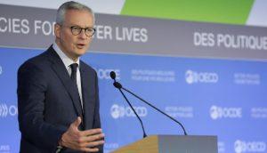 Bruno Le Maire, ministro da Economia da França (Foto: OECD/Hervé Cortinat)