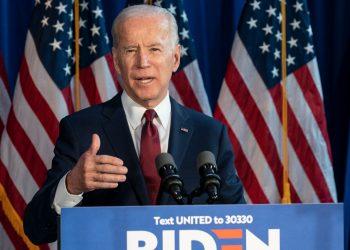 Joe Biden, candidato a presidente dos EUA (Foto: Shutterstock)